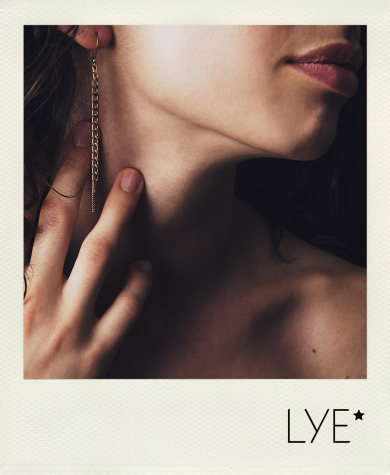Image of Boucle d'oreilles 3 rangs Unchained
