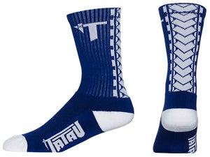 Image of Tatau TS-01 Navy/White Socks