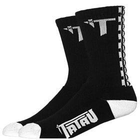 Image of Tatau TS-01 Black/White Socks