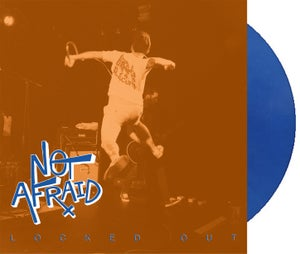 Image of NOT AFRAID 'locked out' LP COLORED VINYL