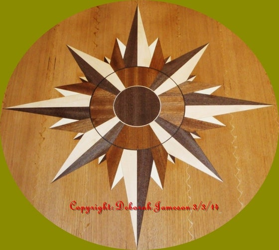 Image of Item No. 152 Navigational Compass Star.