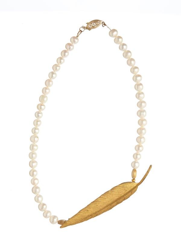 Faith Vintage Goldtone Necklace - Laura Pettifar Designs