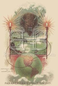 Image of Pan American Exposition - Electric Buffalo
