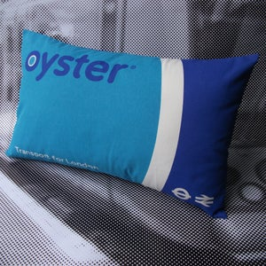 Image of Oyster card cushion