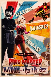 Image of VaVOOM A Rock 'N Roll Circus poster