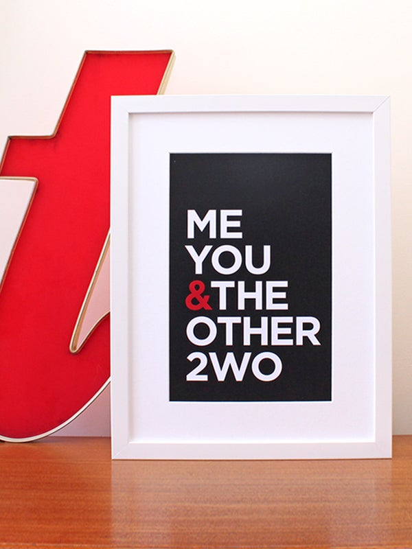 Image of Me You & The Other 2 art print