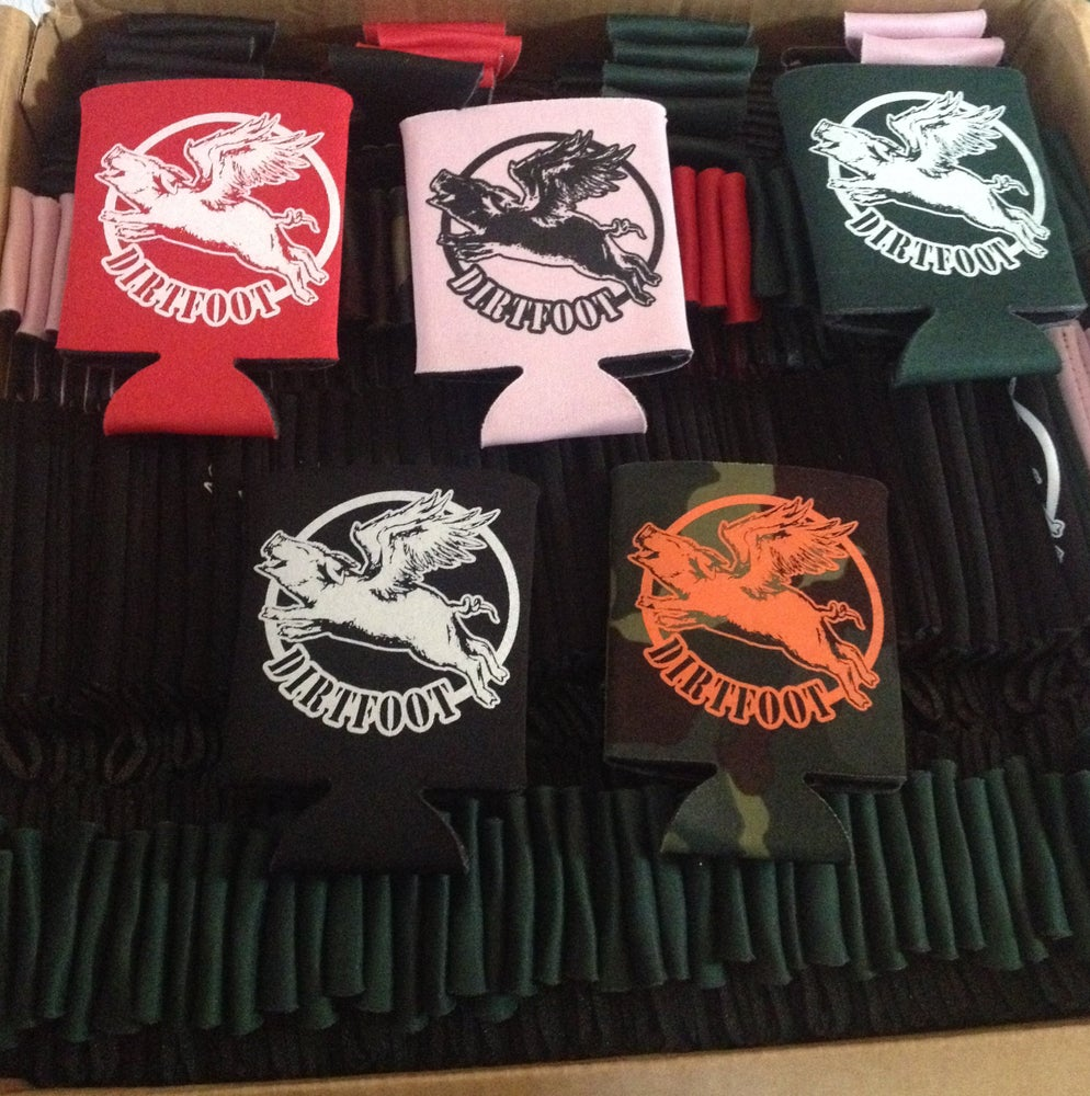 Image of Dirtfoot Koozies - Multi Colored