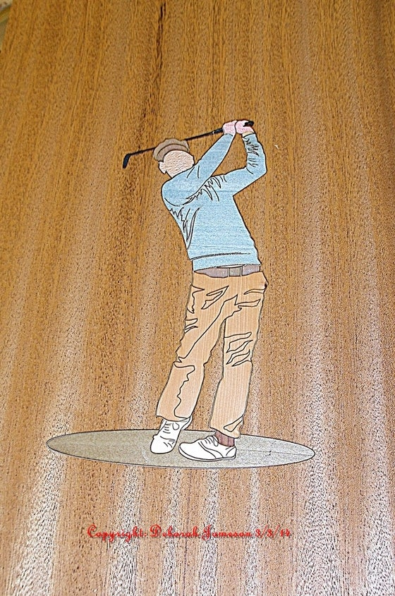 Image of Item 1001. The Golfer. Also Available In Kit Form.