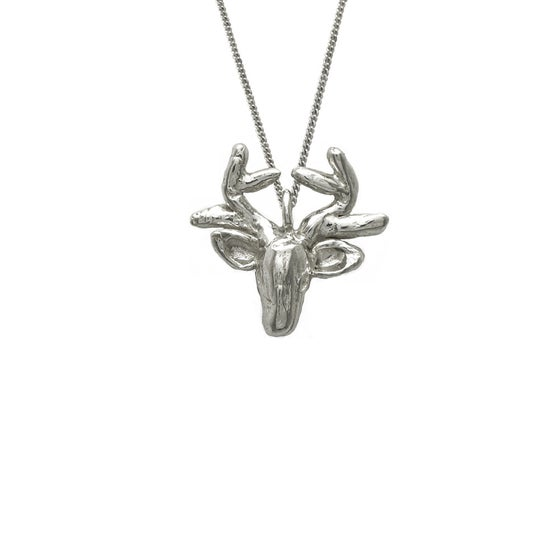 Image of Deer Necklace 3D