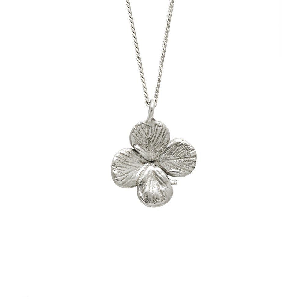 Image of Clover Necklace 3D Small