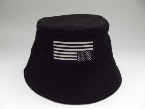 Ldn Apparel Black Ldn Usa Bucket Hat