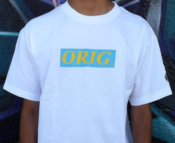 Image of 'SPRING' ORIG BOX-LOGO (WHITE)