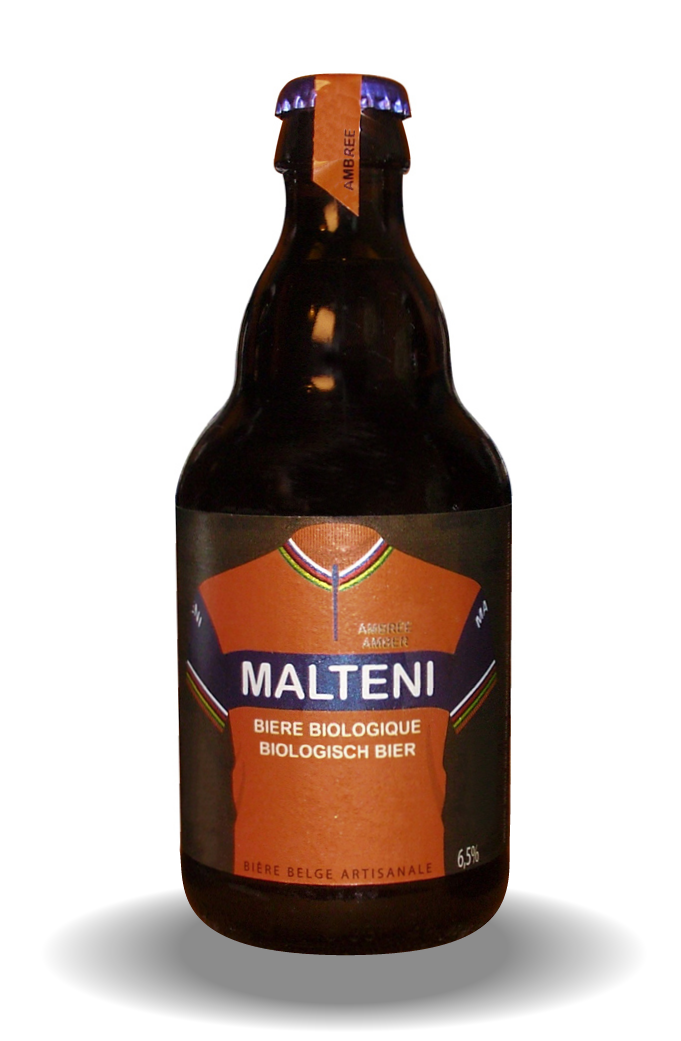 Image of Malteni Amber 33cl 6 PACK