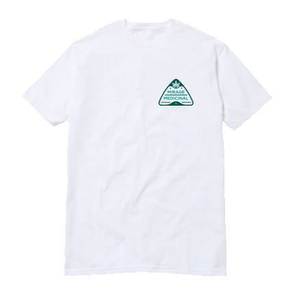 Image of Crest Tee - White