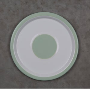Image of Enamel Plate GREEN ALMOND 20cm