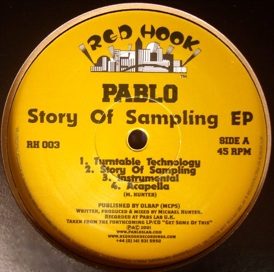 Image of Story Of Sampling EP