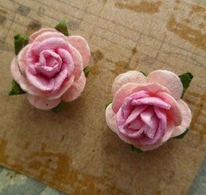 Lucy Floral Bridal Earrings - Laura Pettifar Designs