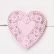 Image of Heart Doilies