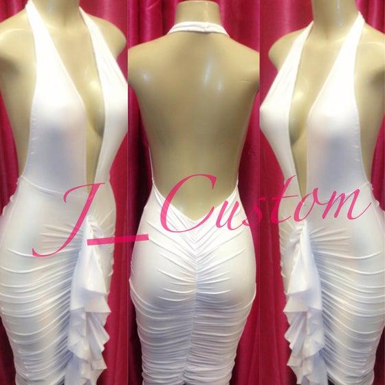 Image of White Sexy B! Dress