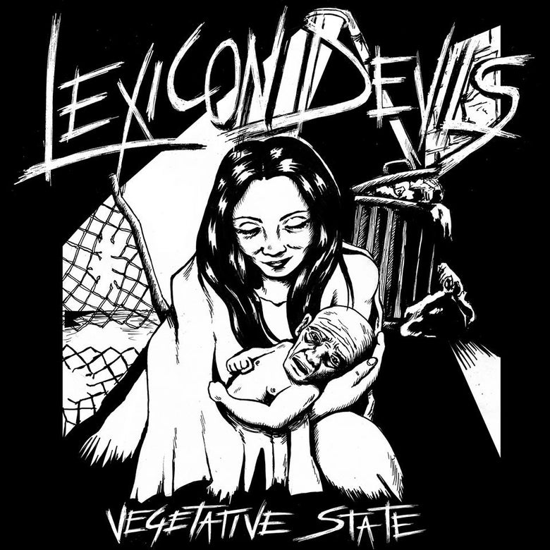 "Image of Lexicon Devils ""Vegetative State"" 7"" - OUT NOW!!!"