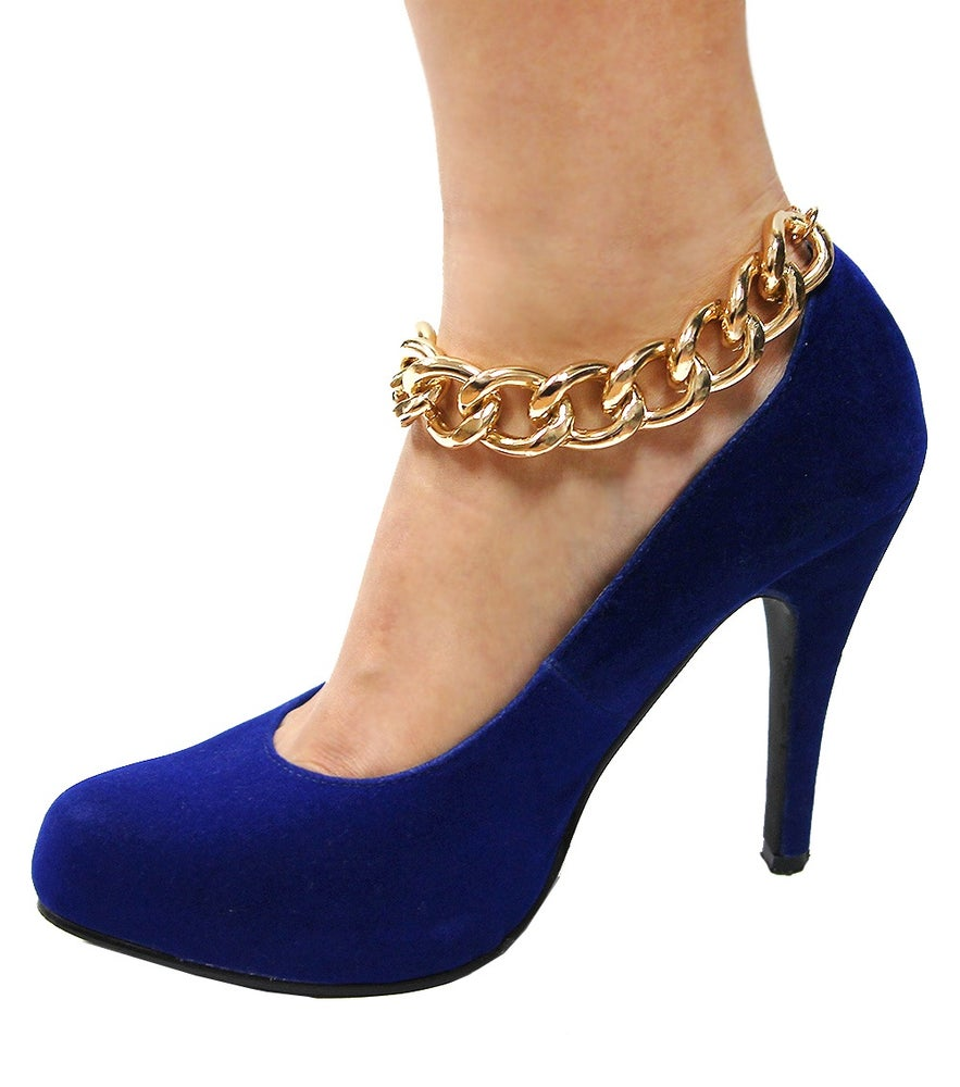 Image of Glam Metal Link Anklet