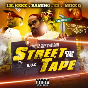 Image of Bams Street Tape Volume1(Regular) featuring MIKE D,LIL KEKE,MR. 3-2 of SCREWED UP CLICK