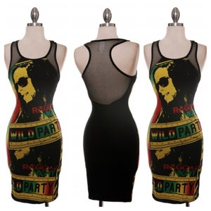 Image of Rasta Party Dress