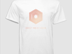 Image of White Hexigon Tee