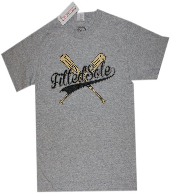 Image of Baseball Tee(Gray)