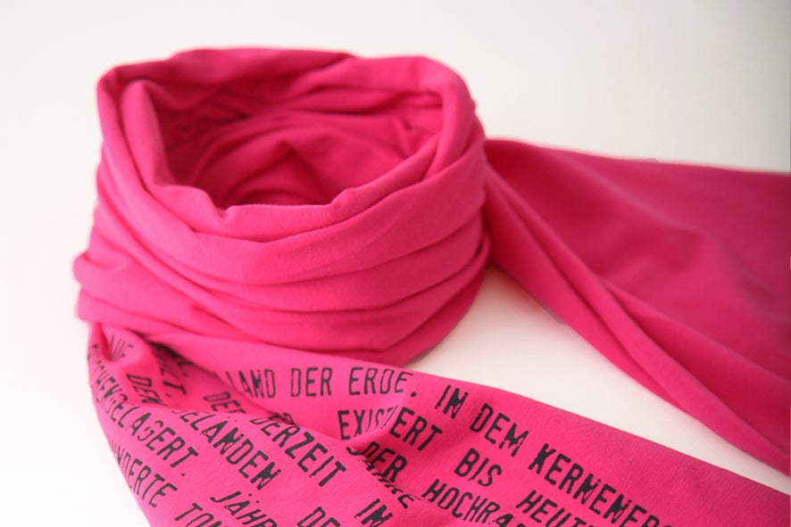 Image of Jersey Schal pink
