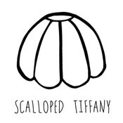 Image of Scalloped Tiffany