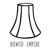 Image of Large Bowed Empire for Standard Lamps