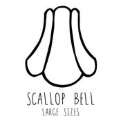 Image of Scallop Bell Large Lampshade Frames