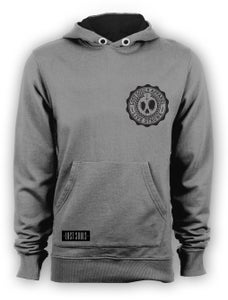 Image of .Lost Souls Horror Family Pullover. Sport Grey