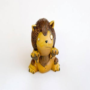 """Image of """"Lion fiend"""" (animal fiendom 4 of 8) limited edition resin figure"""