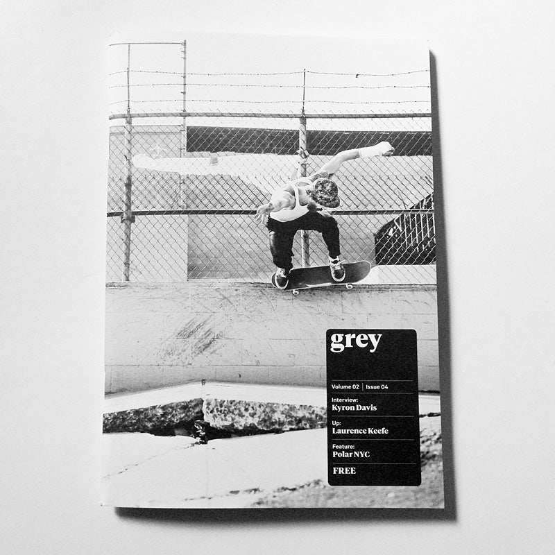 Image of grey skate mag volume 02 issue 04