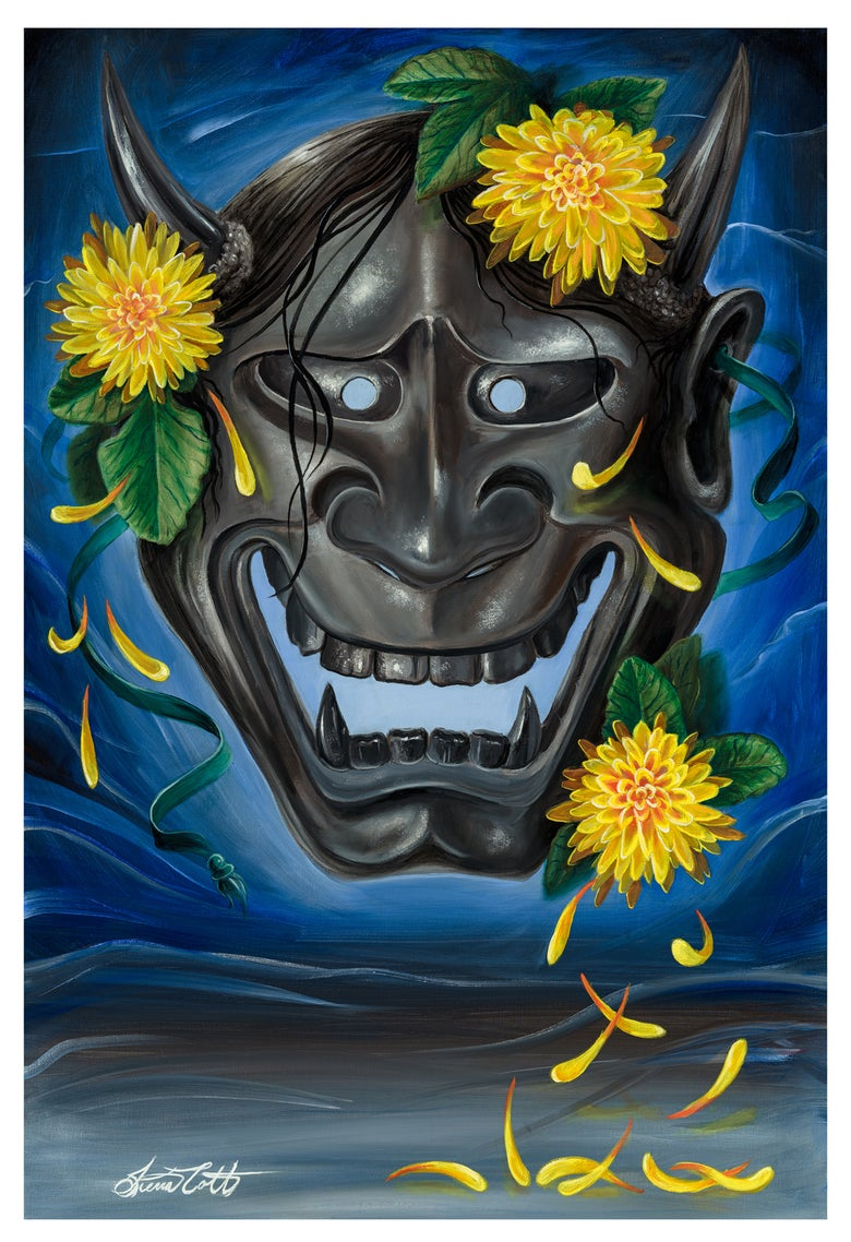 "Image of ""Iron Will""  Hannya Mask"