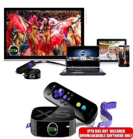 Image of TCNplus+ IPTV Software for ROKU