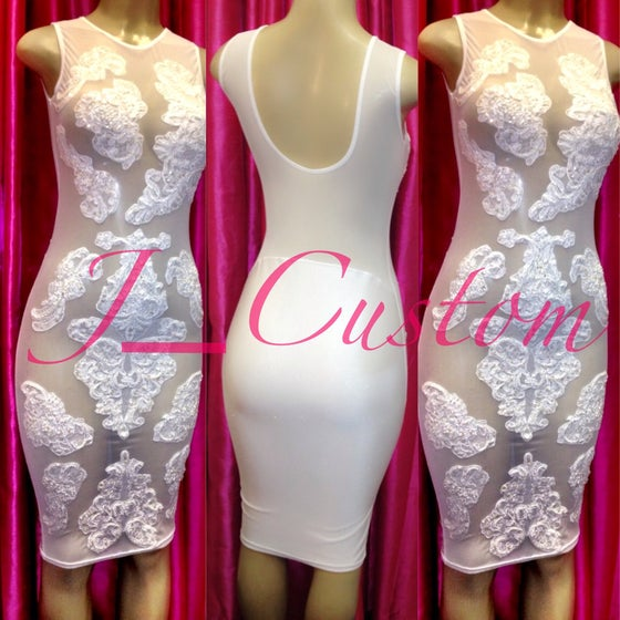Image of White Allure Dress