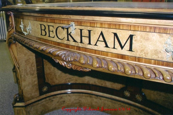 Image of Item No. 97. Drawer Front for David Beckham.