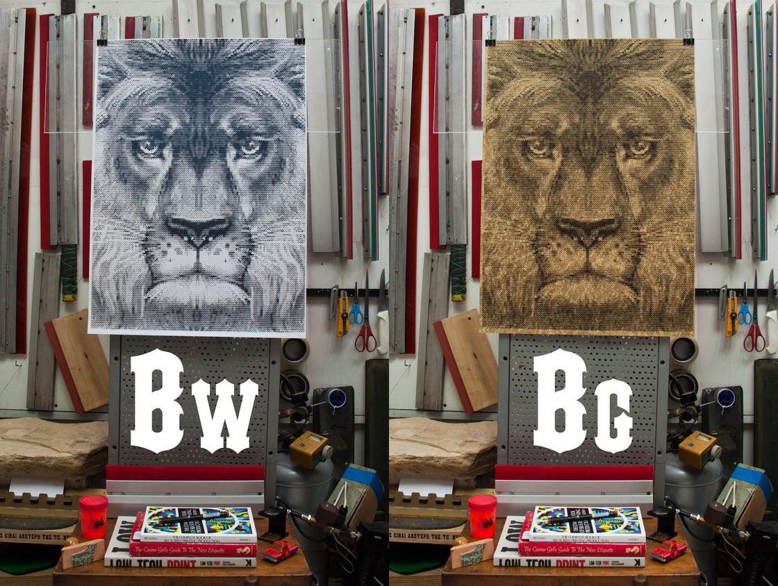 Image of Lion / International Reggae Poster Contest