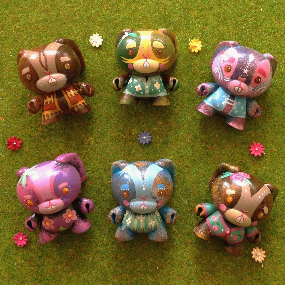 Image of BRIGHTFIELD BUNNIES - Dunny Custom Series