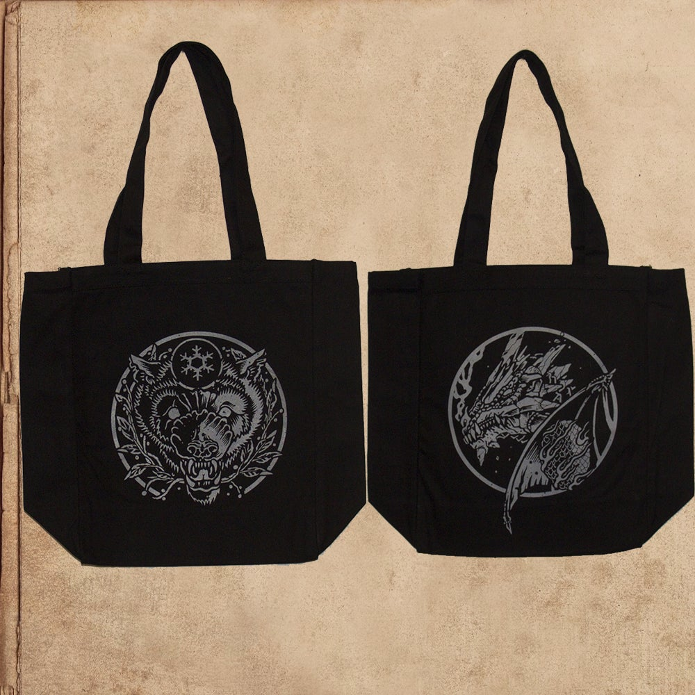 Image of Game of Thrones - tote (double sided)