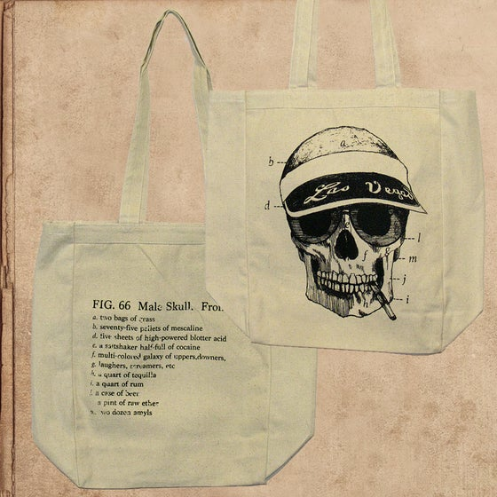 Image of Fear & Loathing - tote (double sided)
