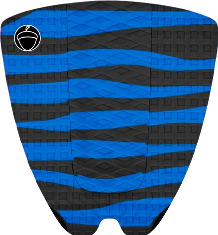 "Image of TAILPAD ""ZEBRA"" BLUE"