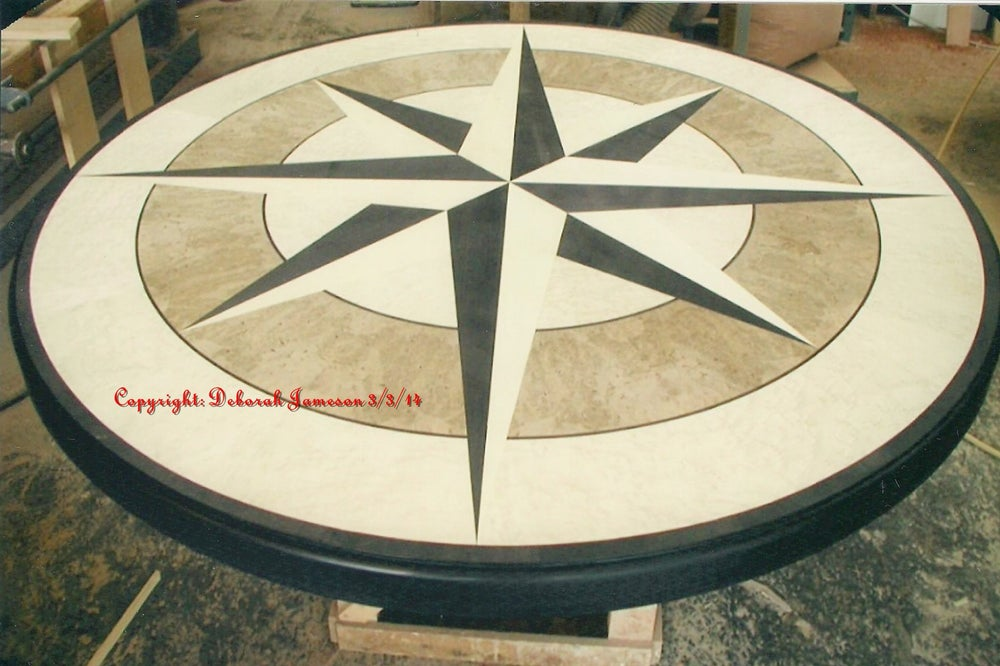 Image of Item No. 61. Nautical Table Top