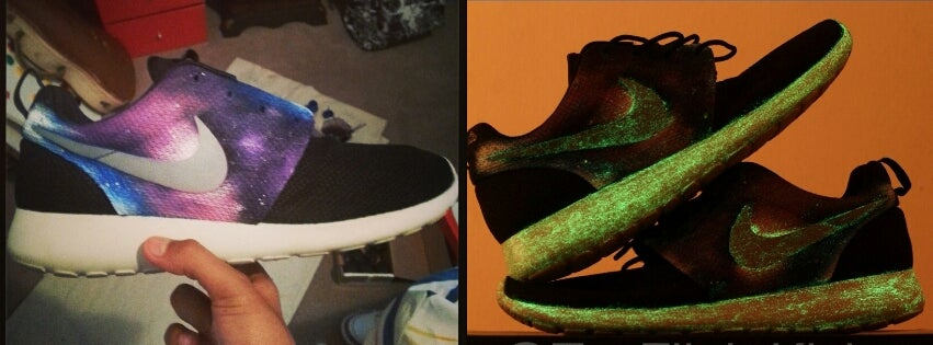 """Image of Nike Roshe Run """"king of Galaxy"""" (shoe included)"""