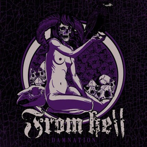 """Image of From Hell - """"Damnation"""" 7""""EP"""