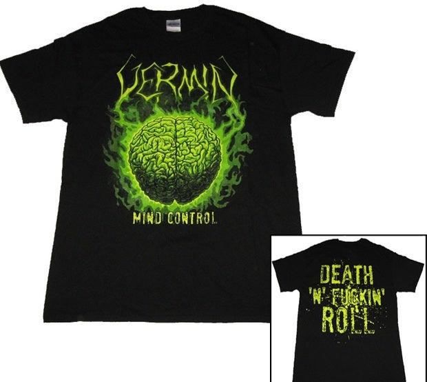 Image of Vermin - Mind Control (Shirt)
