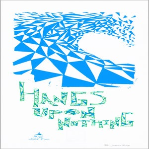 """Image of Hangs Upon Nothing - Triangulation - 9"""" x 24"""" Poster"""